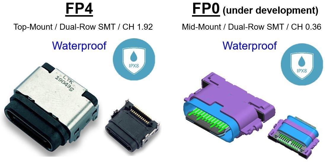 優群防水TYPE-C連接器