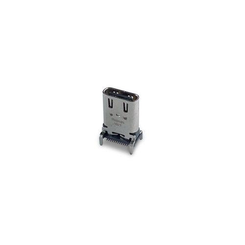 USB Type-C Receptacle Connector Vertical Type